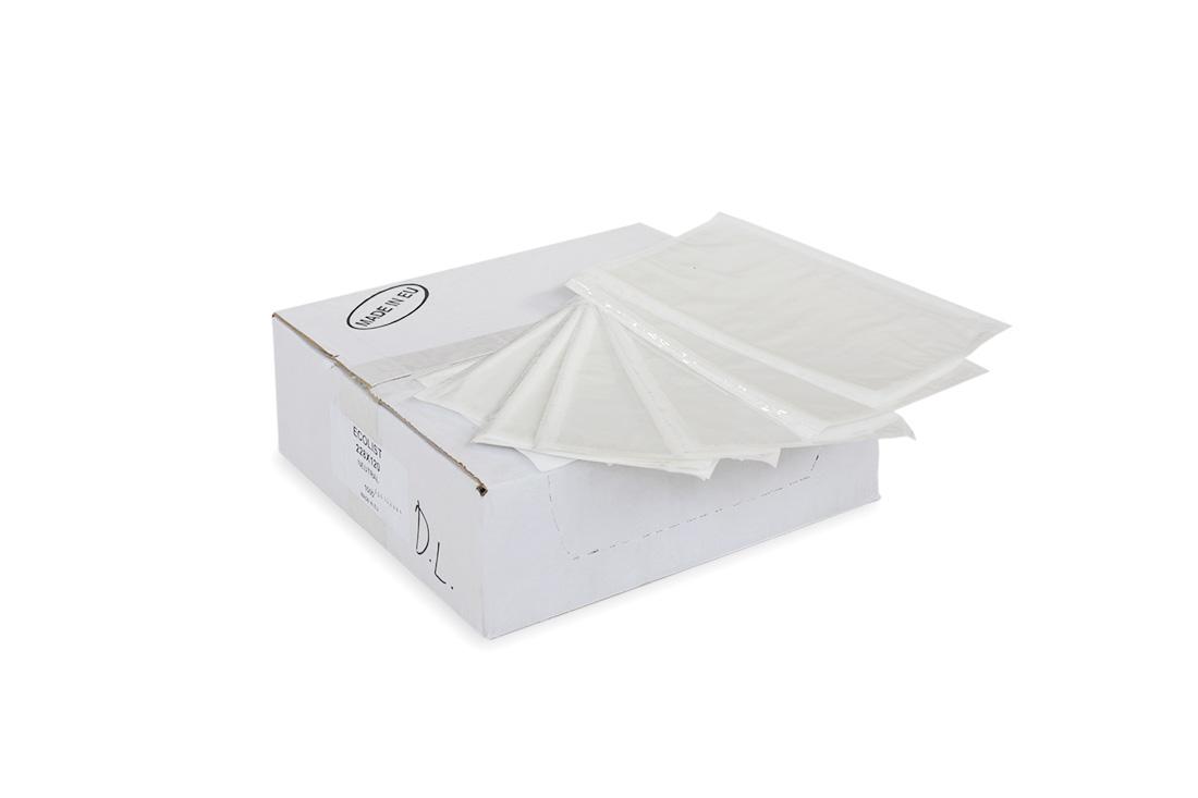 Envelopes packing list